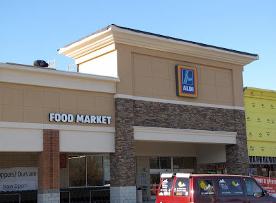 Bowie living aldi discount grocery store now open in bowie for What grocery stores are open today
