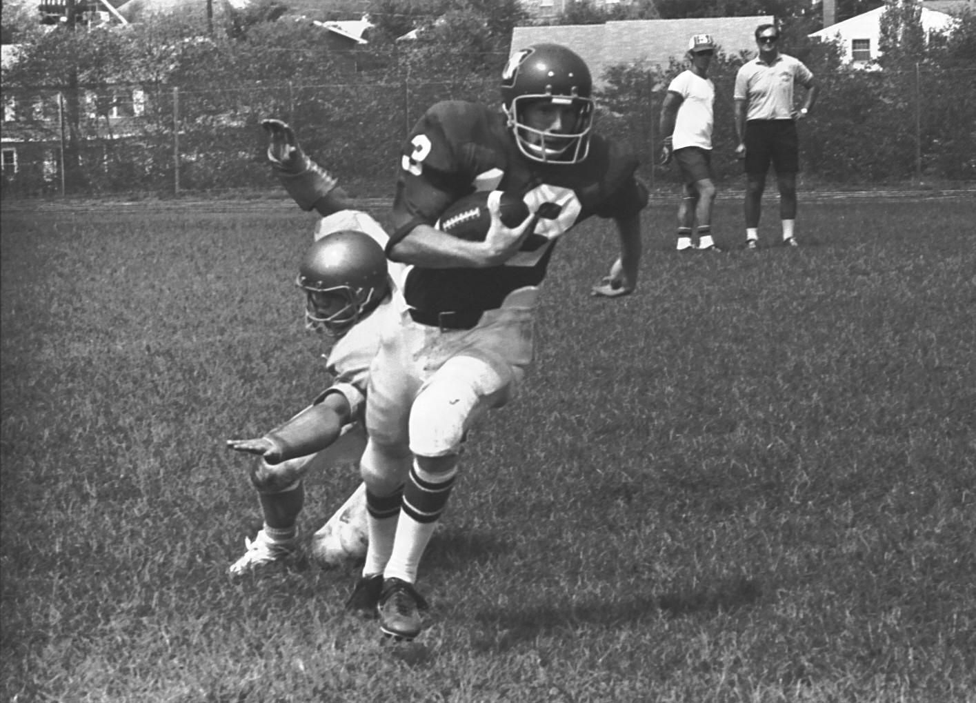 bowie living  bowie high school football  august  1973
