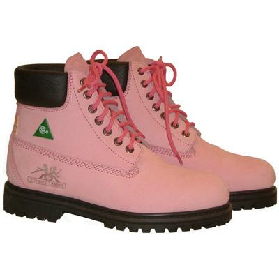 Wonderful New Safety Girl Waterproof STEEL TOE Women Work Boots  Light Pink SIZE 11M MEDIUM The Safety Girl Steel Toe Work Boots Are Stylish Enough For A Night On The Town And Durable For A Day At Work These Boots Are Made With A