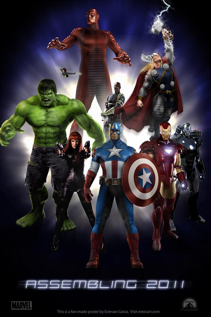 Prepara La Pelicula  The Avengers   Los Vengadores  Para El 2012