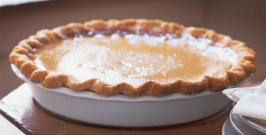 Buttermilk Pie: Maple Buttermilk Pie