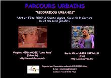 PARCOURS URBAINS, María Alicia URREA (CHILI) et Virginia HERNANDEZ (COLOMBIE)