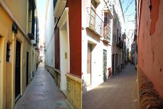 Calles de la Juderia sevillana