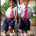 Nishu goes to school