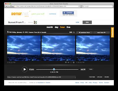 DVR View on Sensr.net