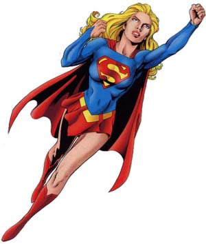 I am a SUPERGIRL!