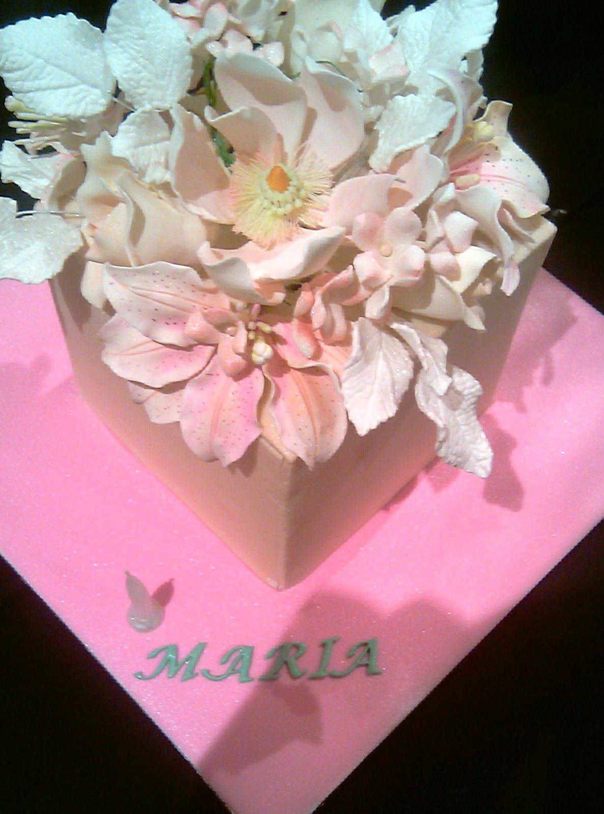 the cupcake fairy  happy birthday maria