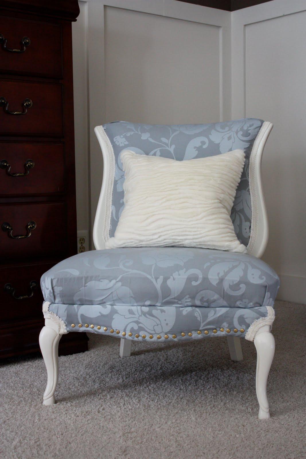 Antique slipper chair - Vintage Slipper Chair