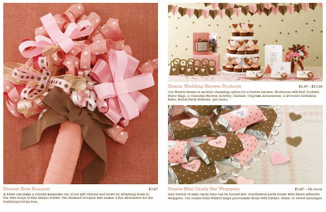 i love the shower bow bouquet in this neopolitan themed set hearts mints candy bar wrappers calendar shower activity cupcake accessories and party