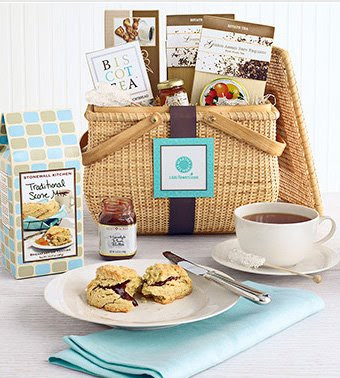 Another gift basket celebrates the afternoon tea ritual with all the trimmings. The Martha Stewart Afternoon Tea Gift Basket also comes in the Nantucket ...