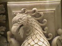 dettaglio ornamento frontale basilica S.Croce a Lecce