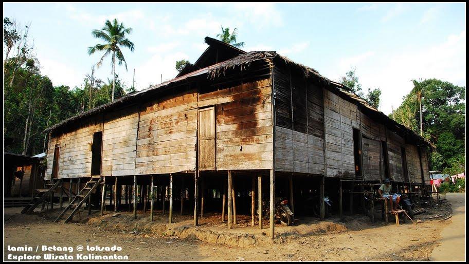 Download this Rumah Lamin Loksdao picture