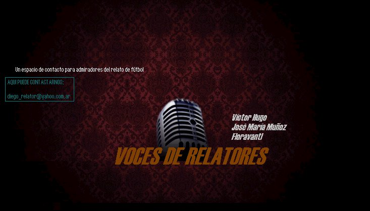 voces de relatores
