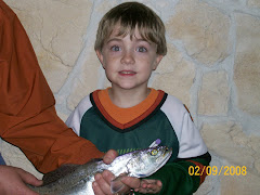 Aaron's first trout