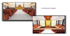 Foto Rencana Interior Gereja