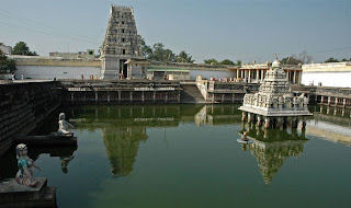 Kanchipuram Kamatchi Aman Temple and Tank