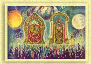 Venkatesa Perumal with Lakshmi