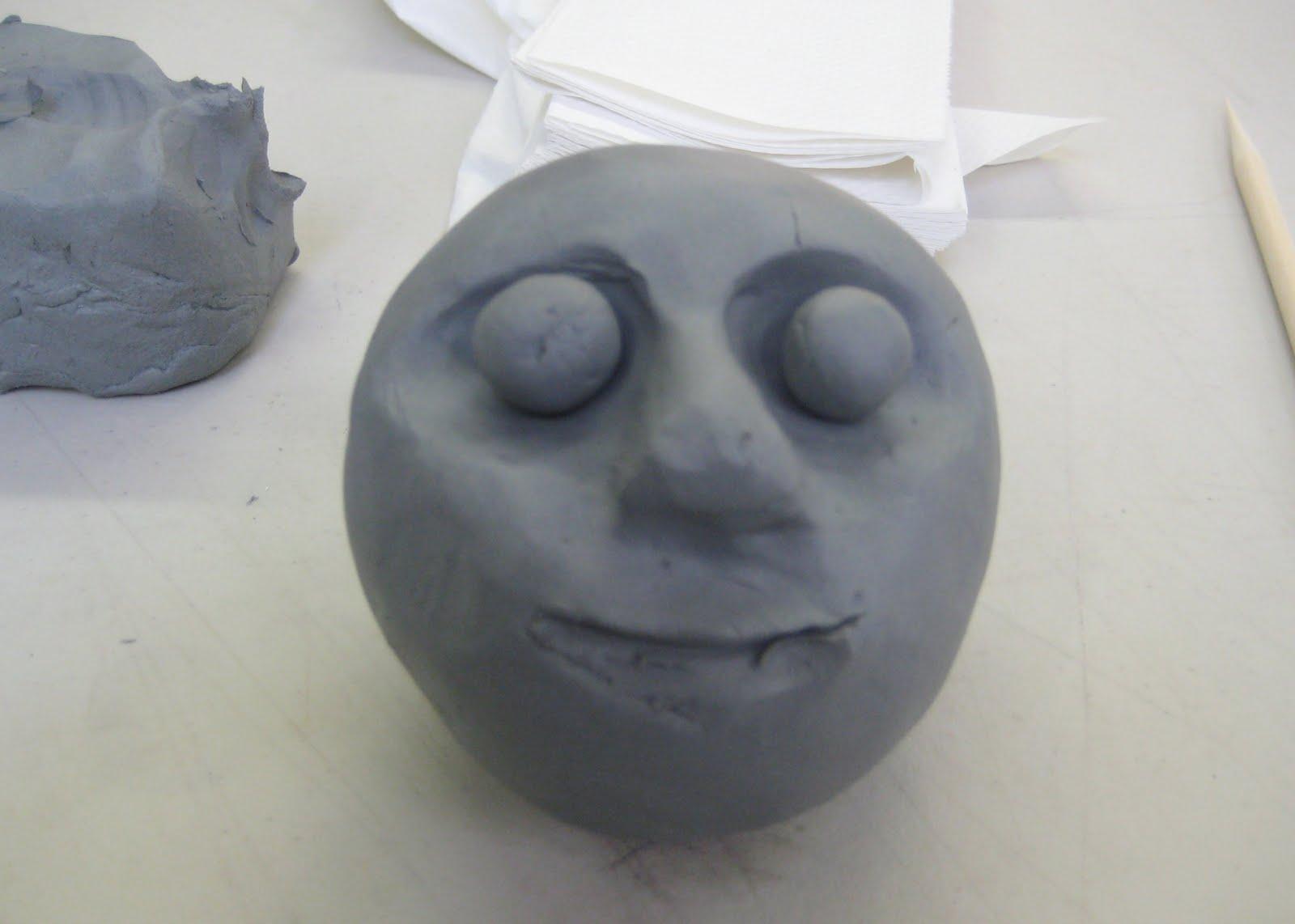 mrs art teacher clay faces