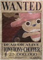 53. TONY TONY CHOPPER 25.000.000