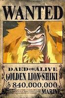 GOLDEN LION SHIKI 840.000.000