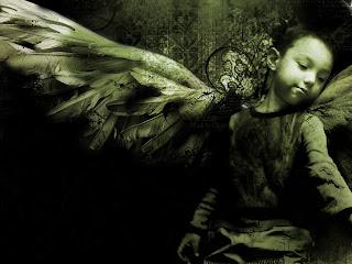 Gothic Boy Angel HD Wallpaper