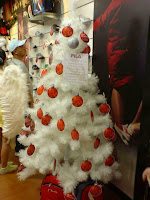 Fila White Christmas Tree