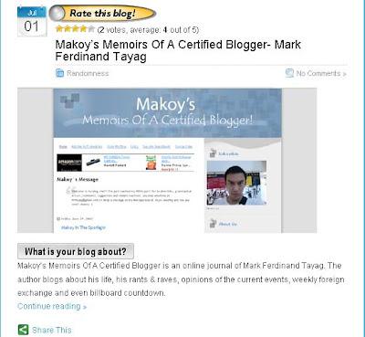 Makoy Blog