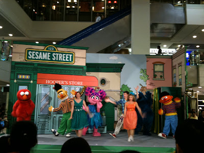 Sesame Street Cast in Singapore 4