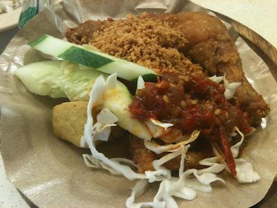 Indonesia's Ayam Penyet