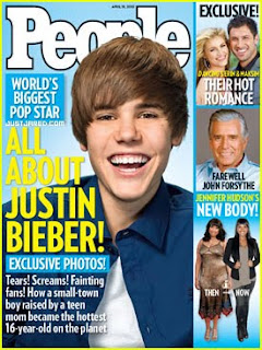 Justin Bieber Hates People Magazine Cover