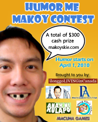 Last Day of Humor Me Makoy Contest