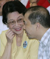 Cory Aquino and Jun Lozada