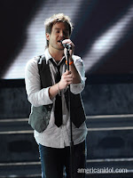 David Cook on American Idol Top 7 performance