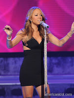 Mariah Carey on American Idol top 8 elimination