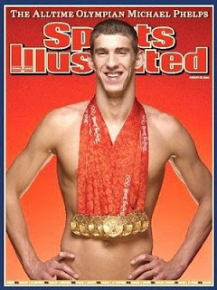 Michael Phelps Sports Illustrated Magazine Cover