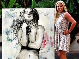 Britney Spears Painting