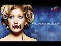 Christina Aguilera Only You Can Silence Yourself Photos