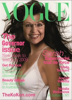 Sarah Palin Vogue Sexy Cover nude scandal