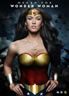 Megan Fox Is Wonder Woman
