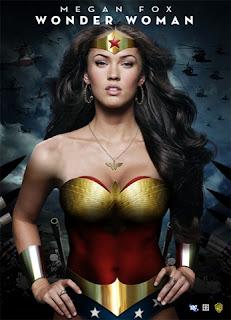 Megan Fox Is Wonder Woman