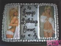Britney Spears Birthday Cake 9