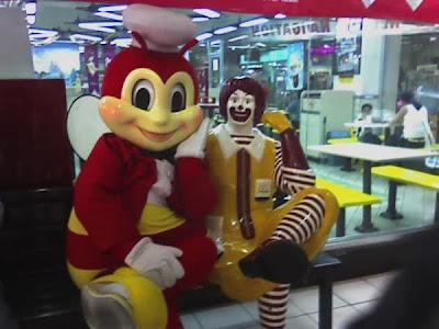Jollibee Loves Ronald McDonald
