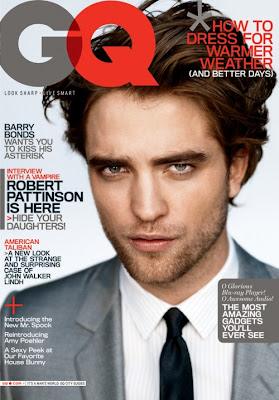 Robert Pattison GQ Cover
