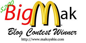 Big Mak Blog Contest Grand Winners