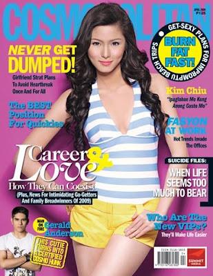 Kim Chui Sexy Cosmopolitan Cover