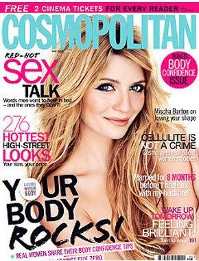 Mischa Barton Sexy Cosmopolitan Cover