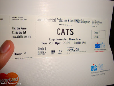 CATS Singapore Ticket