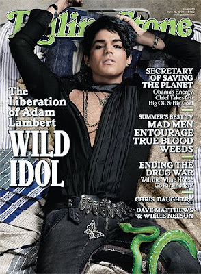 Adam Lambert Confirms He's Gay in Rolling Stone