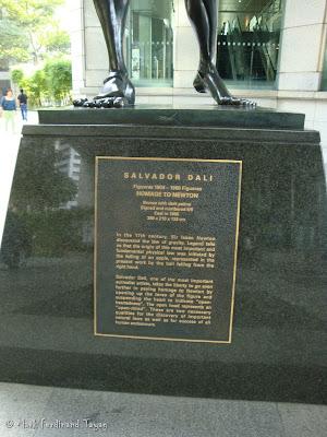 Salvador Dali Statue in Singapore Photo 2