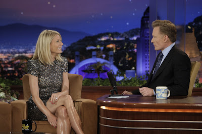 Gwyneth's Greasy Gams on Tonight Show